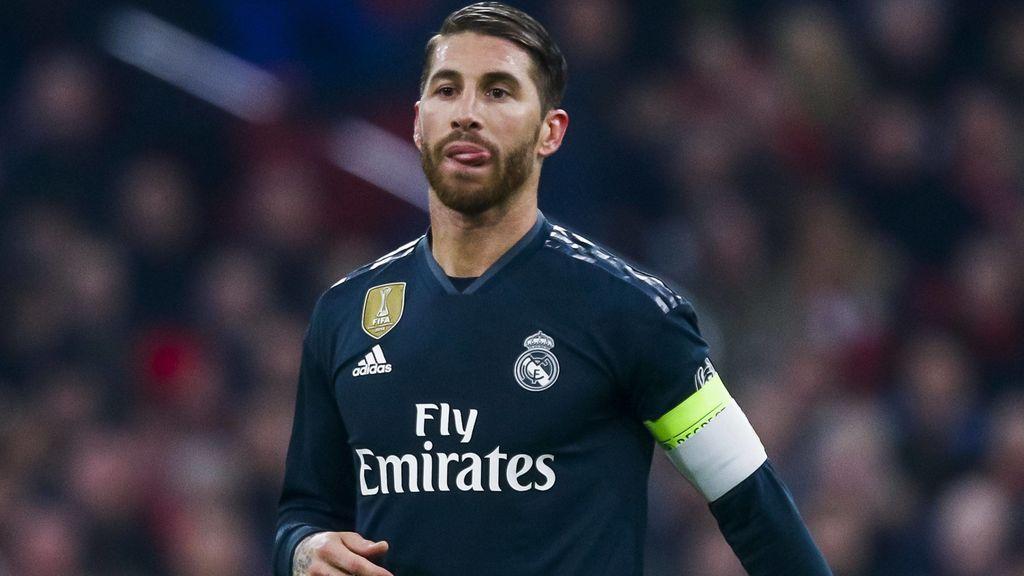 Sergio Ramos, sancionado con dos partidos por provocar la amarilla ante el Ajax