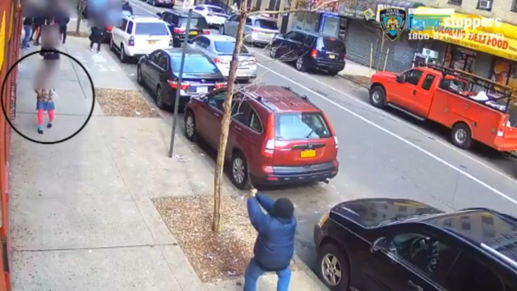 Pánico en Nueva York después de que un hombre encañonase con su pistola a los viandantes