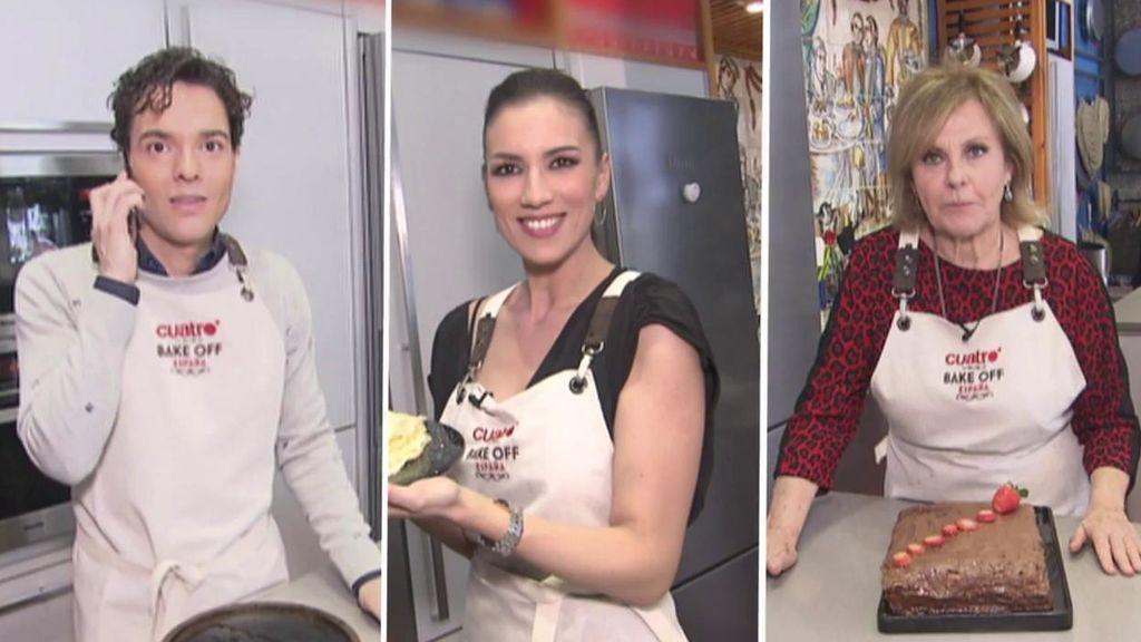 Patricia Pardo y sus filloas gallegas, representantes del programa en el reto de 'Bake Off'
