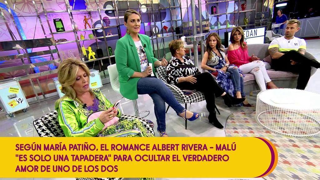 """Gemma, del bombazo de Patiño sobre Malú y Rivera: """"Cuando tú no desmientes es porque te conviene que esta noticia se propague"""""""