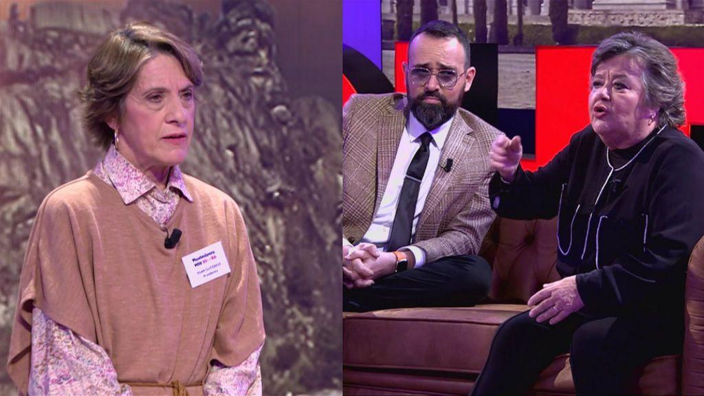 El tenso enfrentamiento entre Cristina Almeida y Pilar Gutiérrez