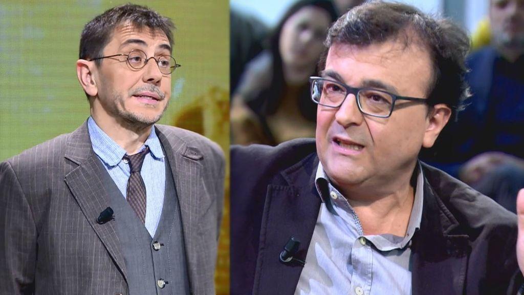 """El zasca de Javier Cercas a Monedero, sobre la Transición: """"La culpa la tiene la gente de izquierda"""""""