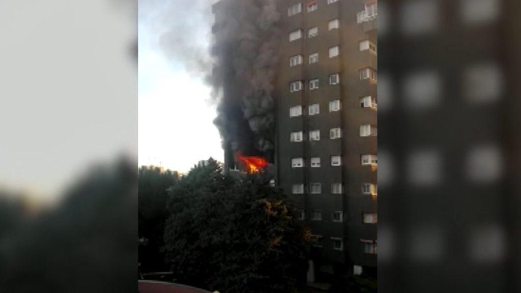 Dos personas muertas en un incendio de Barcelona