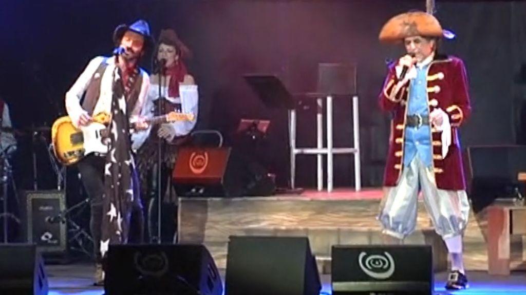 'El Pirata Sabina' desembarca en el Carnaval de Cádiz