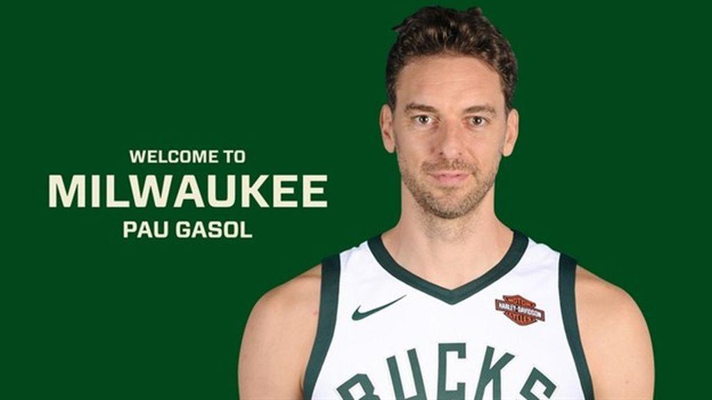 La promesa de Pau Gasol tras fichar por los Milwaukee Bucks