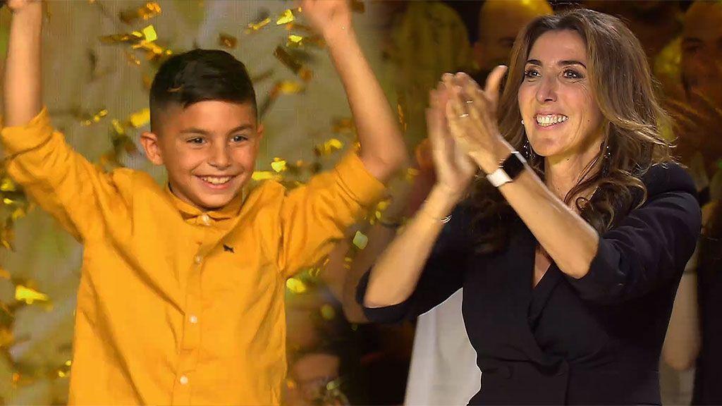 """El don de Cristian Losada vuelve loca a Paz: """"No quiero que nadie vote, te doy mi 'Pase de oro"""""""