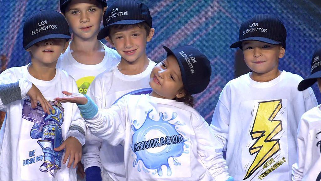 'Los Elementos' revolucionan 'Got Talent' y a su profe le quedan fuerzas para su propio show de danza urbana con 'Yo soy loco'