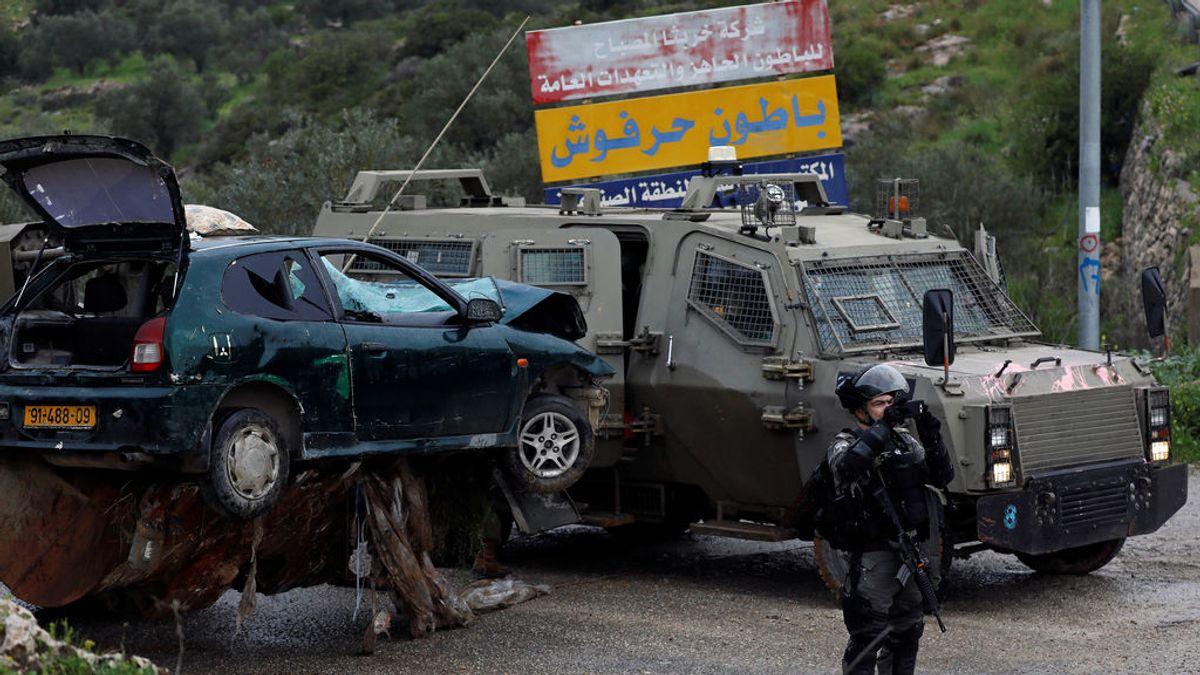 Israel abate a dos atacantes tras atropellar a un grupo de militares en Cisjordania