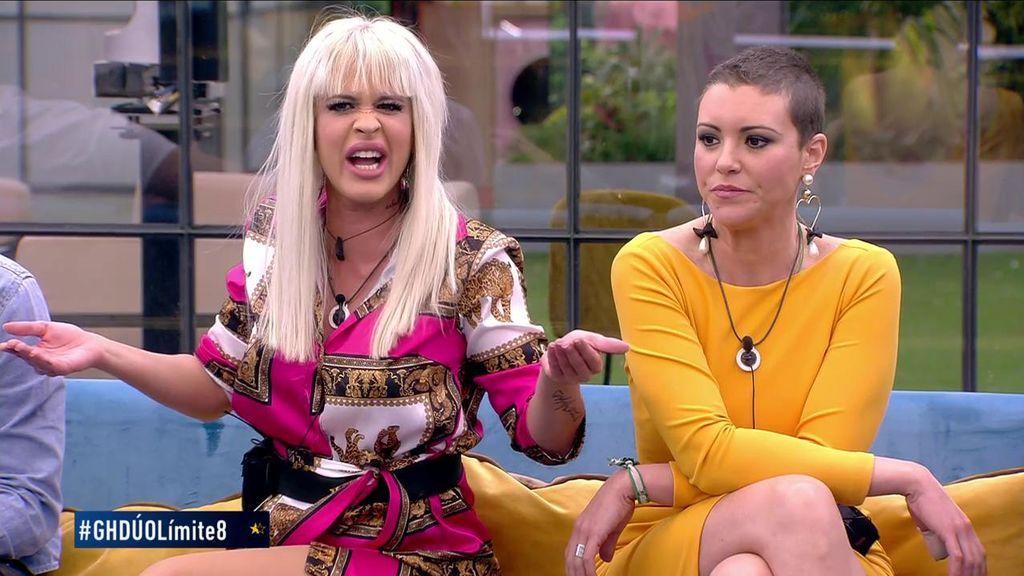 """María Jesús acusa a Ylenia de dejarse manipular por Carolina: """"Eres su perro ladrador"""""""