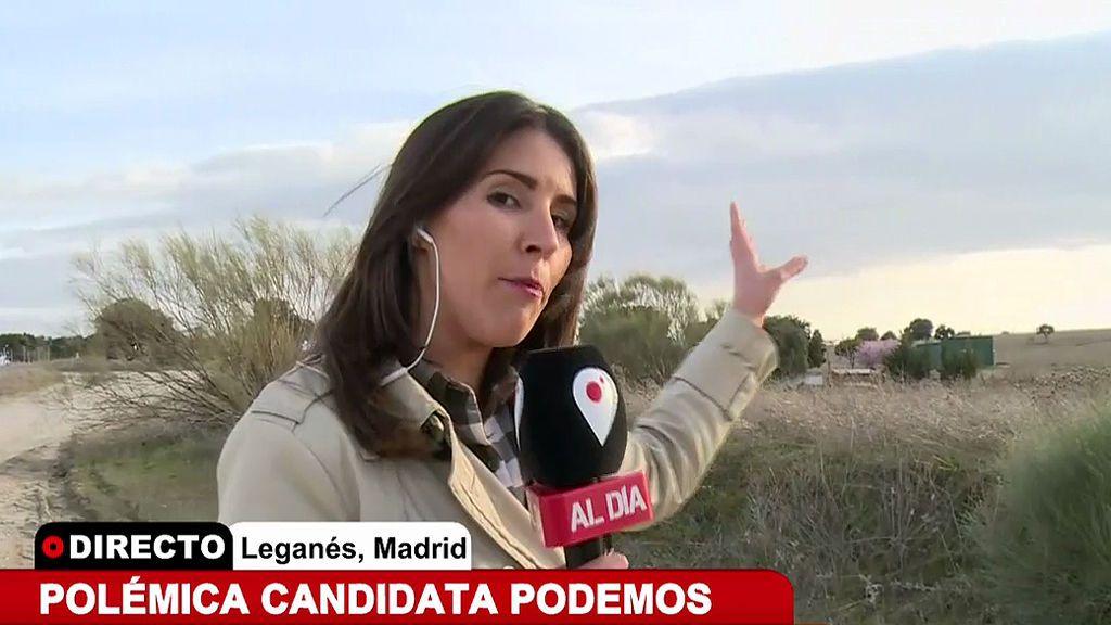 El lugar donde el novio y el amigo de Pilar Baeza (Podemos) asesinaron a Manuel López