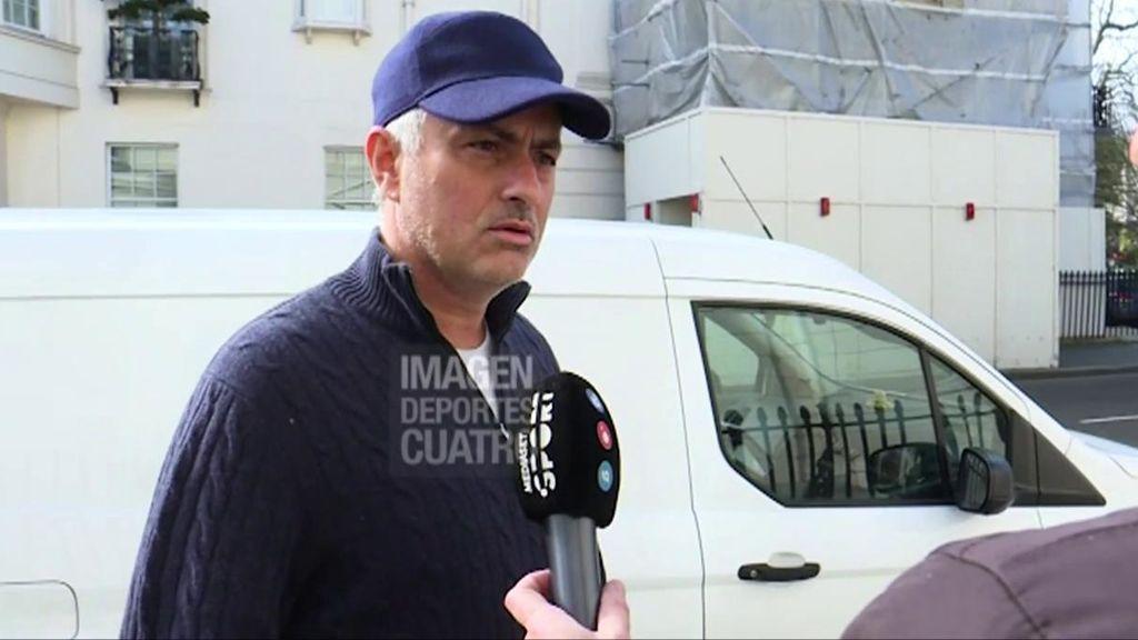 """Mourinho, sobre su futuro en los banquillos: """"Espero no trabajar hasta junio"""""""