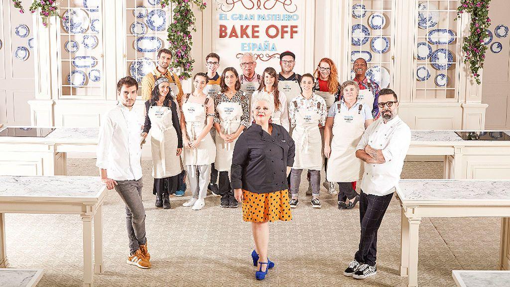 Invitados especiales y galas tematizadas cada miércoles en 'Bake Off'