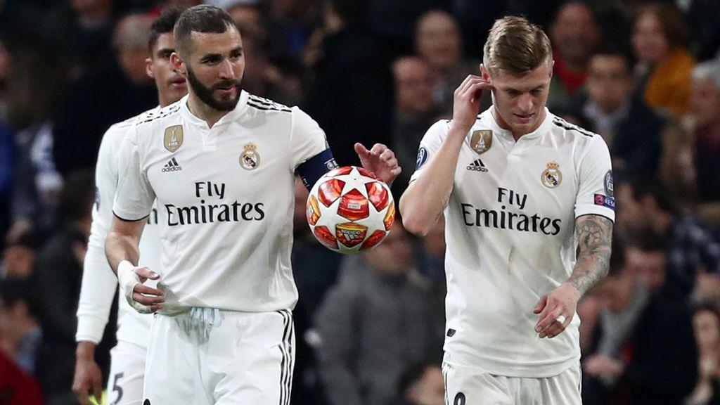 El Madrid sufre un batacazo histórico ante el Ajax (1-4) y se 'despide' de la temporada