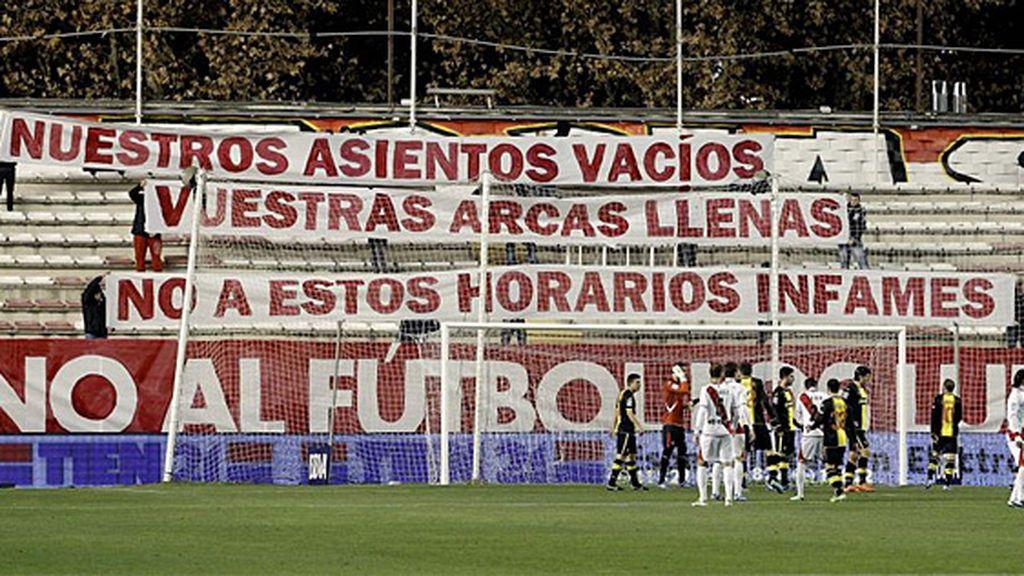 Desaparece el partido de los lunes por la noche y el Rayo-Betis se jugará el domingo a las 14:00 horas