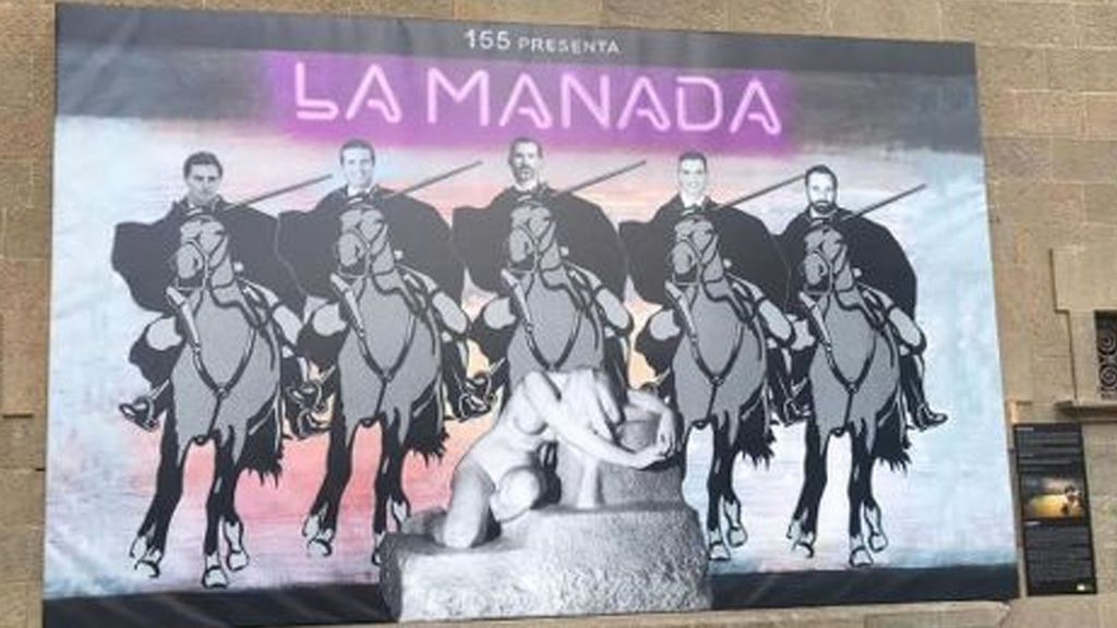 El cartel de La Manada de Olot, ¿es arte o una falta de respeto?
