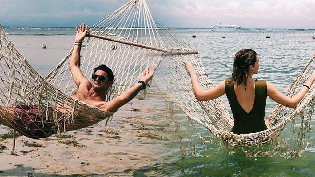Lujo desmedido en el álbum de fotos del viaje a Bali de Alba Díaz y Javier Calle