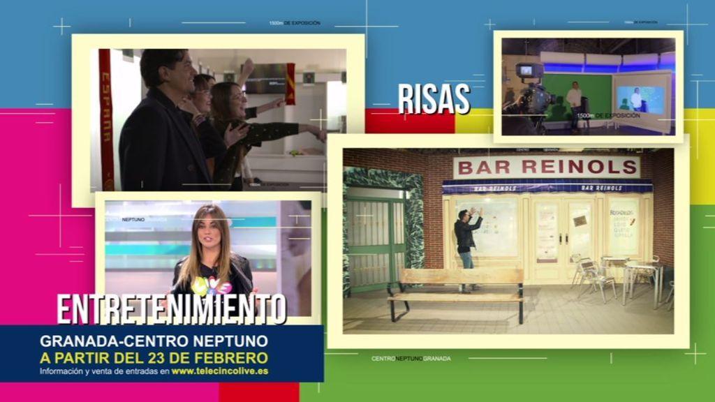 Telecinco Live ya está en Granada