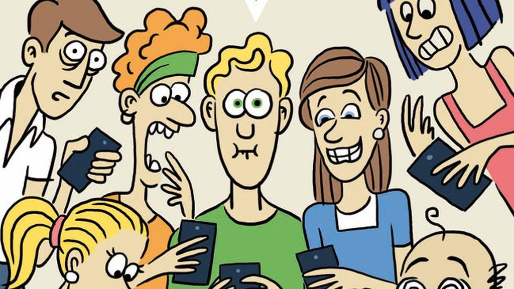 """""""El WhatsApp de padres es como la droga, una vez entras, ya no puedes salir"""""""