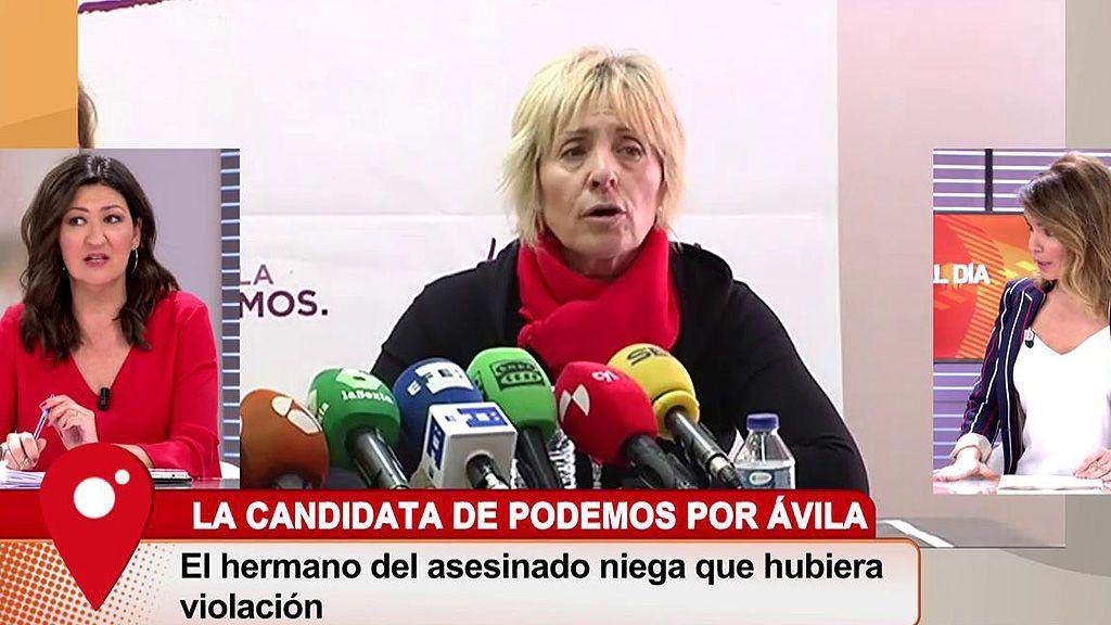Cruz Morcillo transmite el testimonio de un agente que investigó el caso de Pilar Baeza