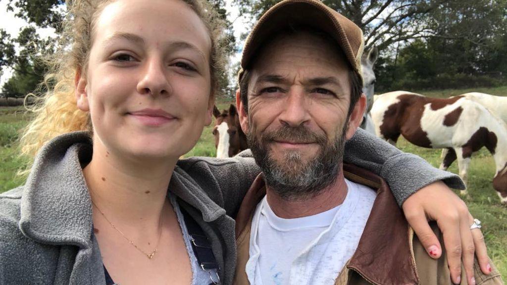 La hija de Luke Perry agradece todo el apoyo que ha recibido tras la muerte de su padre