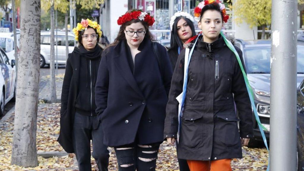 Condenan a 2.190 euros cada una a dos activistas de Femen por 'profanar' la Almudena
