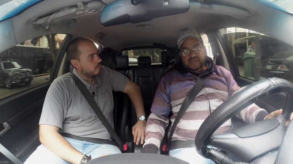 "Eduardo Castro, taxista: ""Hay policías vinculados con las bandas de crimen organizado"""