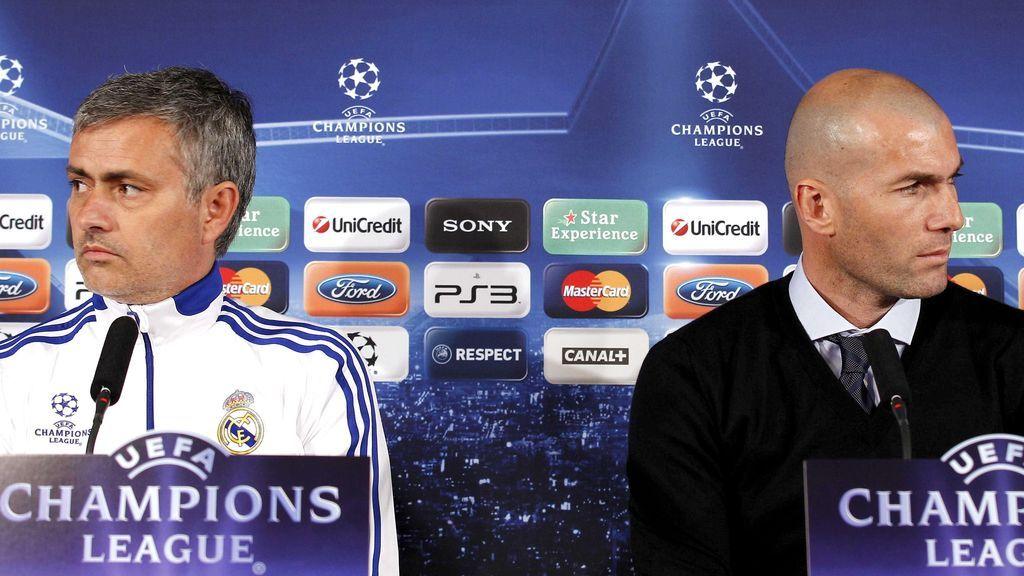 Mourinho y Zidane, las opciones para sustituir a Solari la próxima semana
