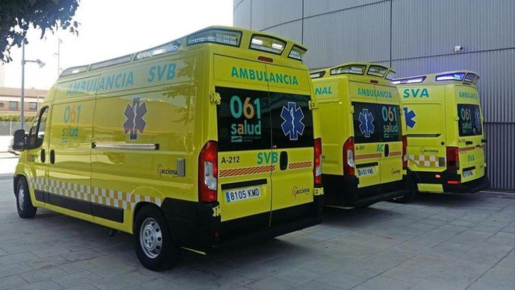 ambulancias aragon