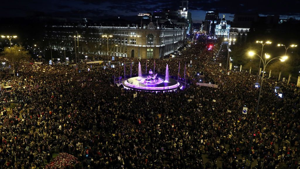 El 8M vuelve a ser un éxito con movilizaciones masivas por toda España