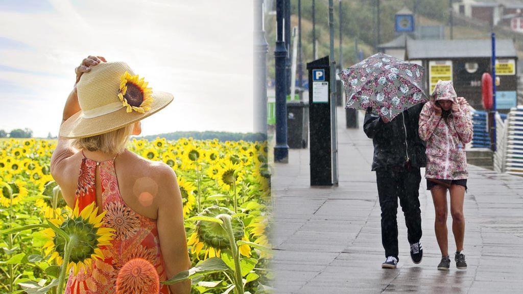 Sol o lluvia: el tiempo que se espera la próxima semana