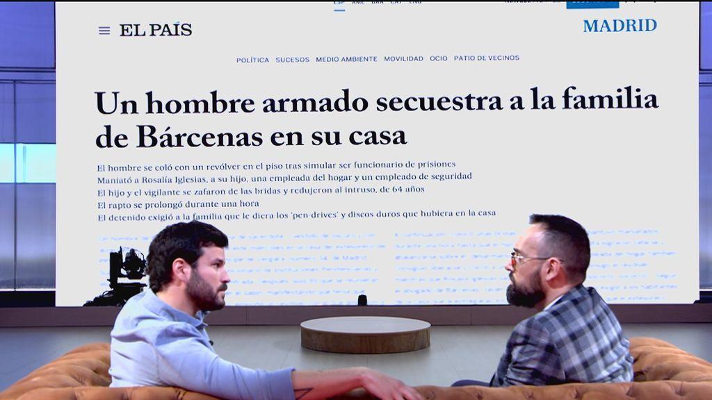 El peor momento de Willy Bárcenas: su madre y él fueron secuestrados en su propia casa