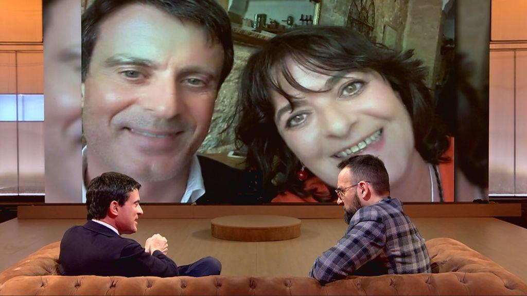 El infierno familiar de Manuel Valls: una hermana exdrogadicta a la que niega haber abandonado