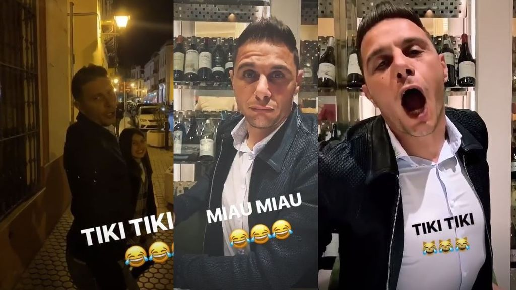 Joaquín se declara fan del 'tiki tiki' de Ylenia