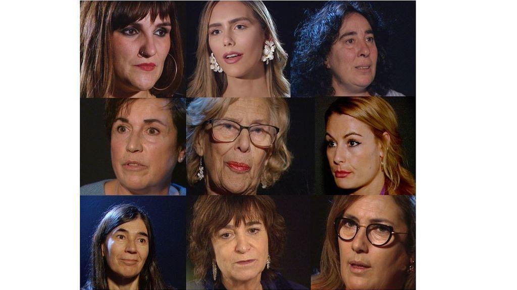 Nueve mujeres del 8M: Figuras españolas relevantes nos dan su visión del feminismo