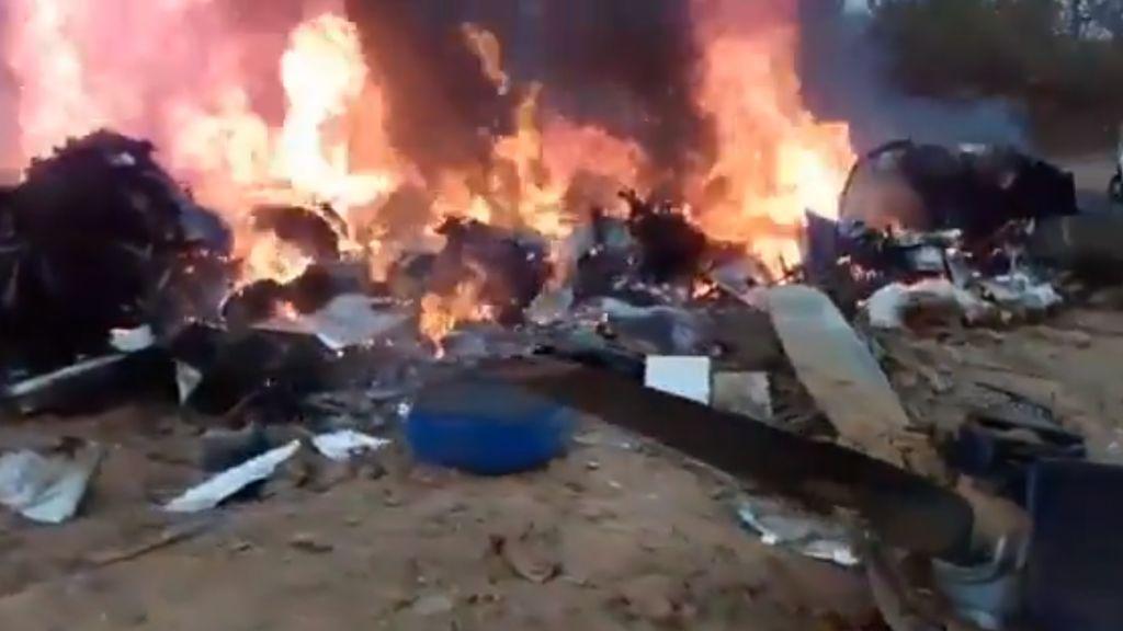 12 muertos tras estrellarse un avión durante un aterrizaje de emergencia en Colombia