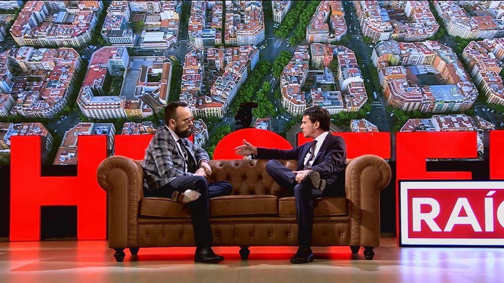 Risto pone en un aprieto a Valls al no saber cuántas líneas de metro hay en Barcelona