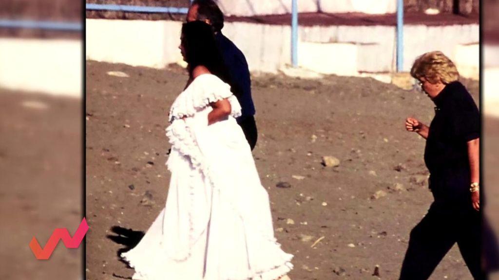 Las fotografías de Encarna Sánchez y la Pantoja que fueron retocadas