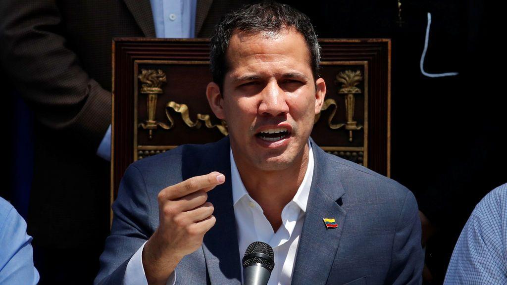 Guaidó propone declarar la alarma nacional en Venezuela