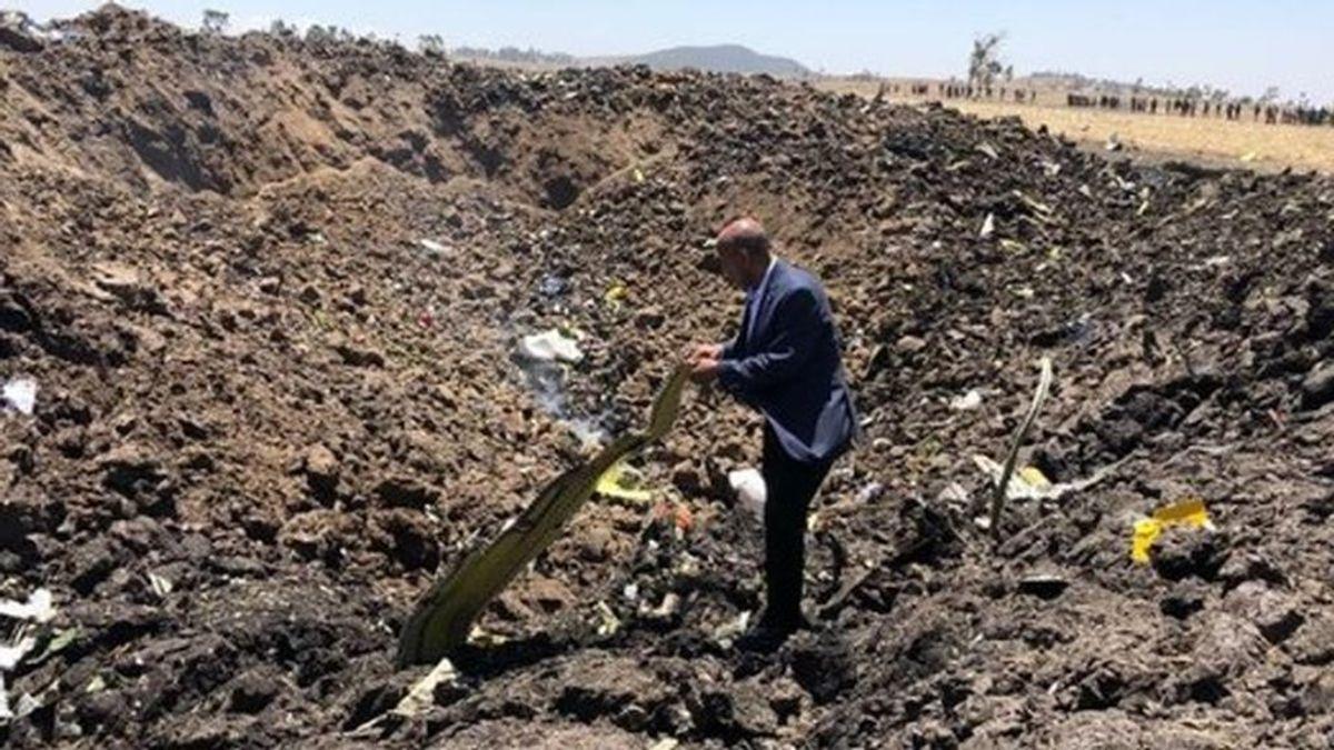 Mueren los 157 pasajeros del avión que se ha estrellado en Etiopía
