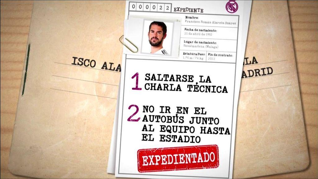 El Real Madrid abre expediente disciplinario a Isco por petición de Solari