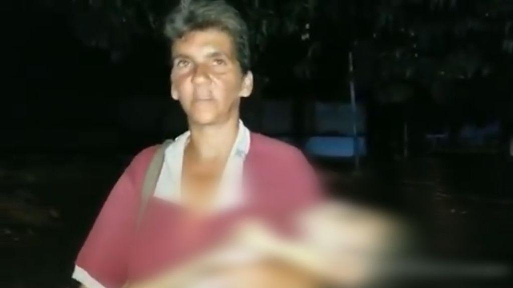 Con su hija muerta entre sus brazos, una mujer muestra los efectos más crueles del apagón en Venezuela