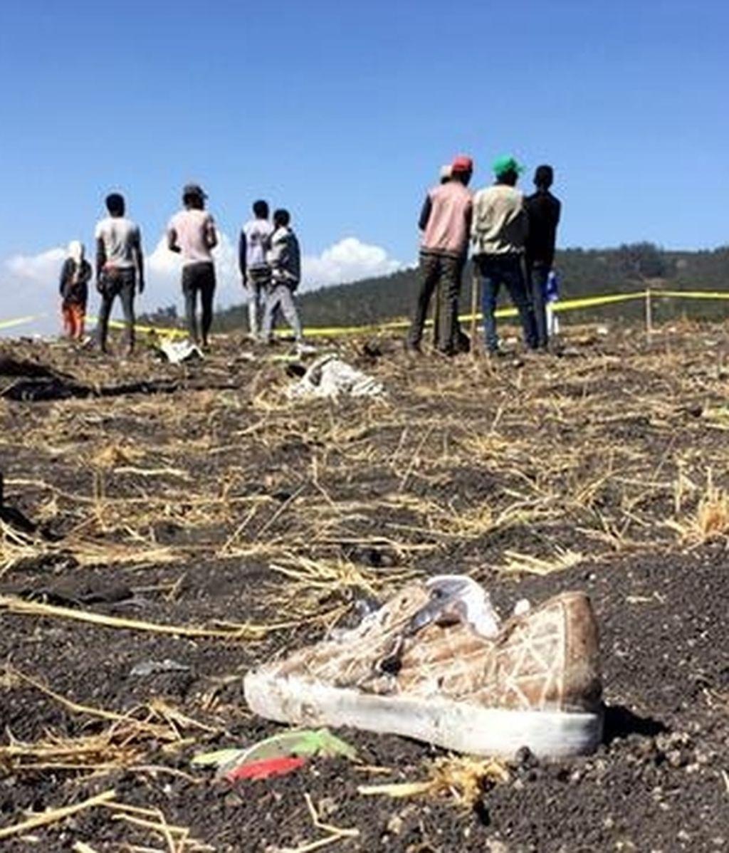 Confirman que no hay supervivientes en el avión que se ha estrellado en Etiopía