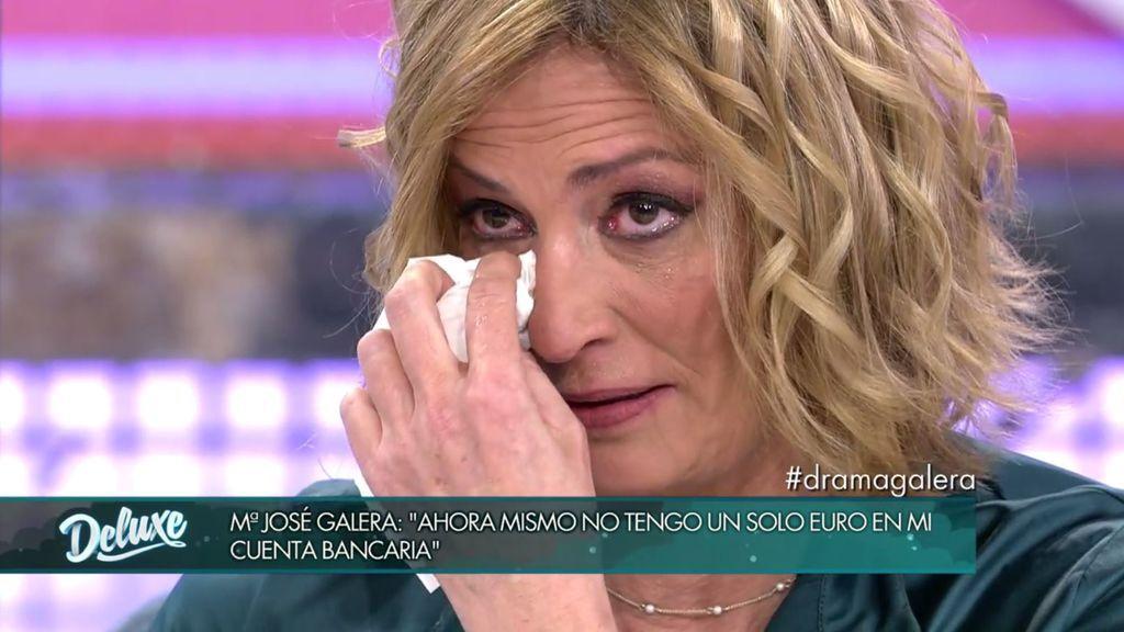 """Mª José Galera, rota, quiere recuperar a su madre: """"Te amo con locura, te necesito"""""""