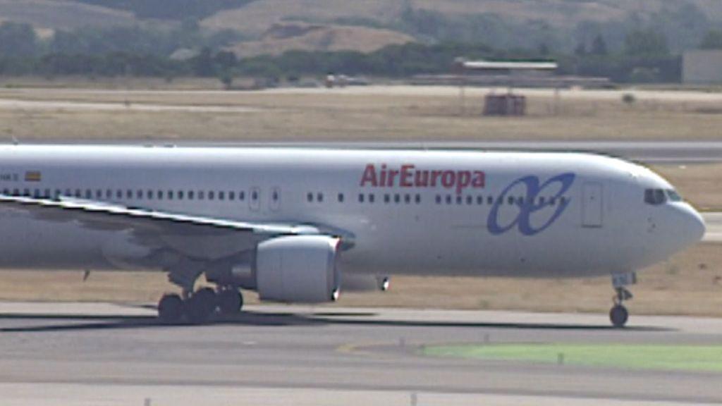 Una tripulación de Air Europa, tiroteada a su llegada a Caracas desde Madrid