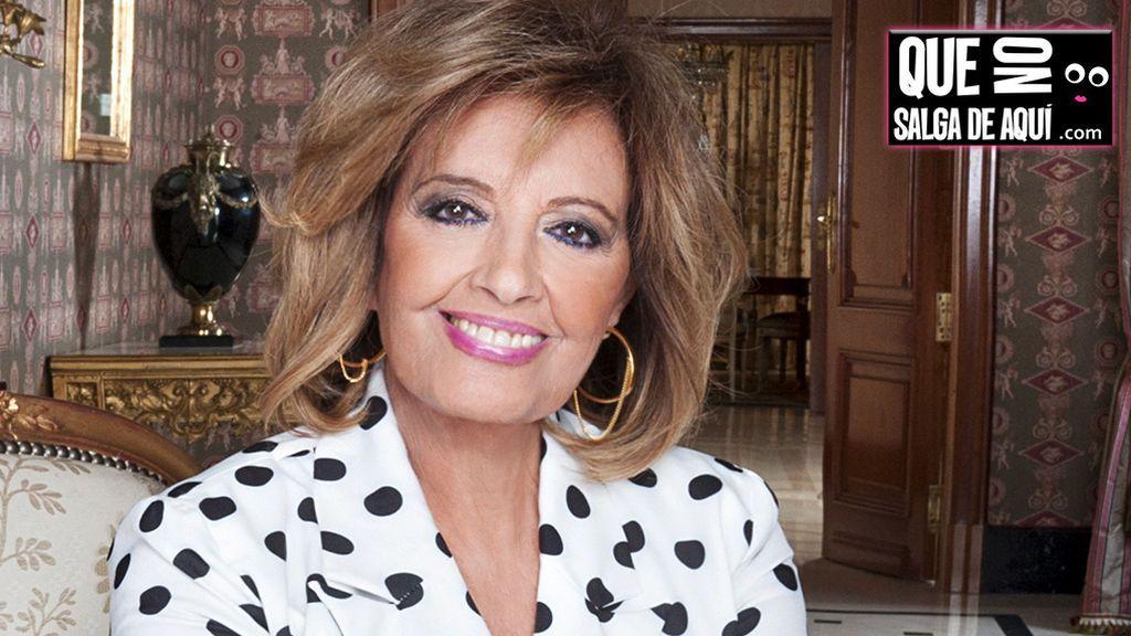 """Mª Teresa Campos: """"Ojalá pudiera presentar ahora una tertulia política"""""""