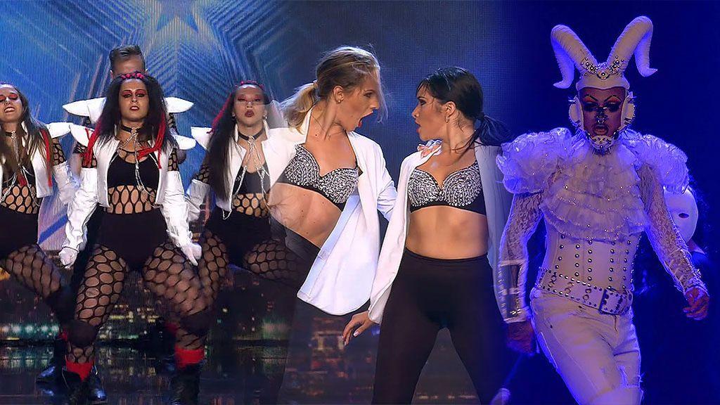 La perfección echa baile: 'Bambitos', Edel y Alexandra y 'Nervio y la Academia Puro Ritmo' triunfan con sus shows