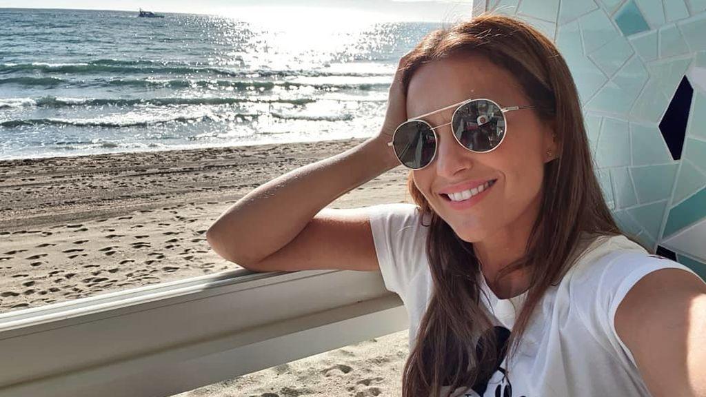 Paula Echevarría  inaugura la temporada de sol en Marbella