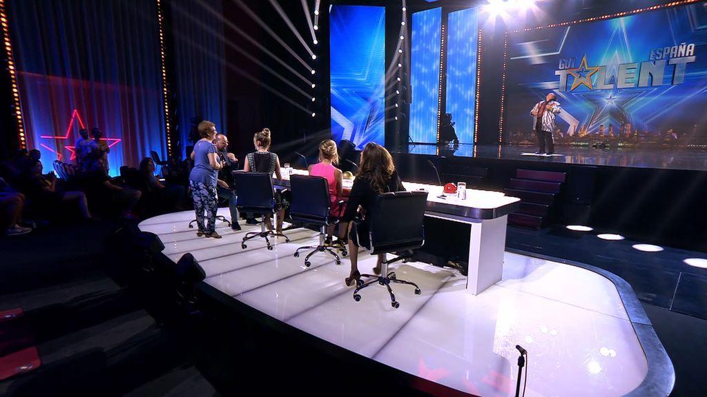 Joan Montpellier no triunfó en la primera edición de 'Got Talent' y en la cuarta tampoco... ¡pero se llevó una fan!