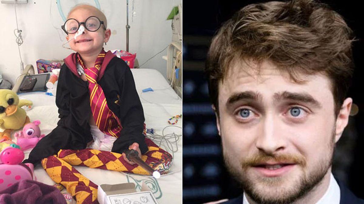 Gigi y Daniel Radcliffe