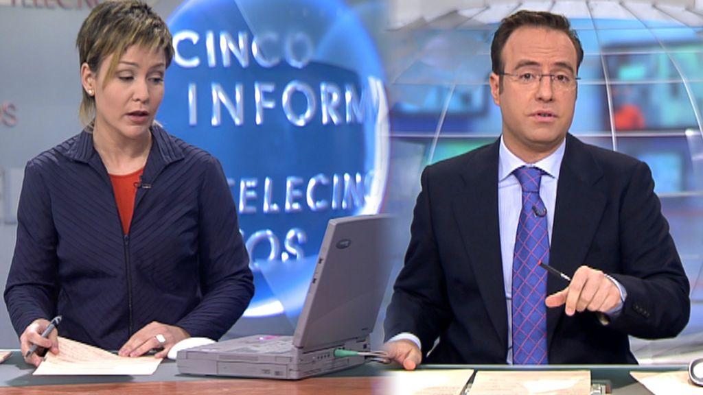 15 años del 11-M: así nos enteramos de la noticia en Telecinco